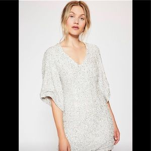 Free People party girl mini dress